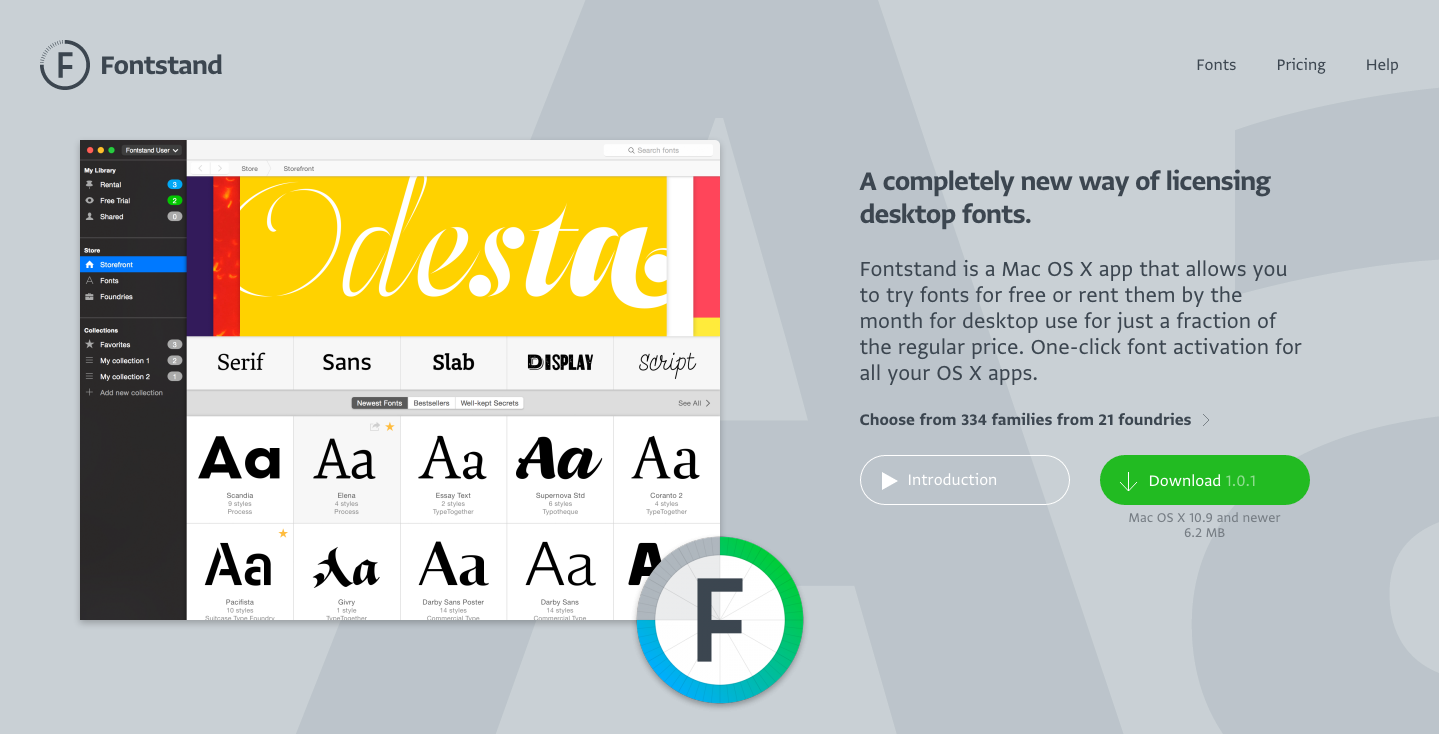 Fontstand: A completely new way of licensing desktop fonts