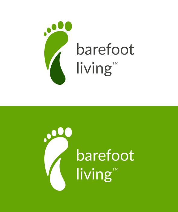 Free Barefoot Living Logo