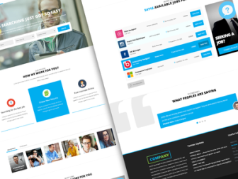 Job Board Web Template