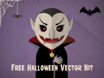 Free Halloween Vector Kit