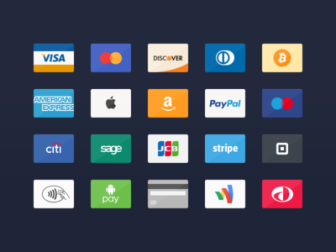 Credit Card Icons 2.0 PSD